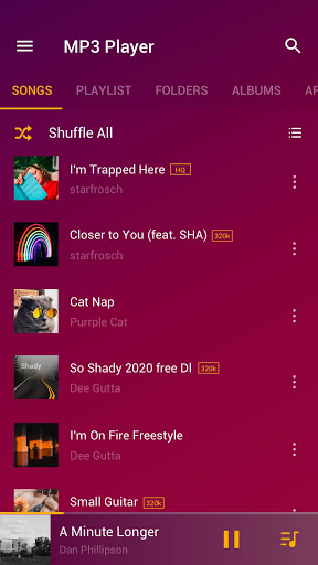 Music Player - MP3 Player apktram screenshots 1