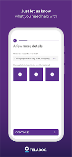 Teladoc | Online Doctors, Therapy & Nutrition 4.7 Screenshots 3