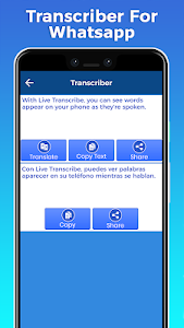Transcriber For WA 1.0