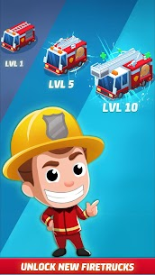 Idle Firefighter Tycoon APK , Fire Emergency Manager APK Download 13