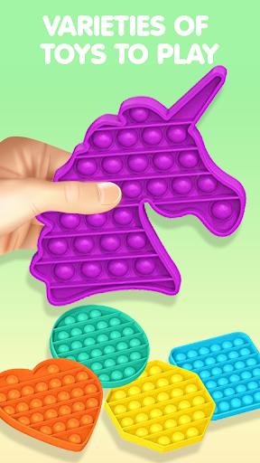 Pop It Sensory Fidget cube toys 3d Anxiety Relief  screenshots 4