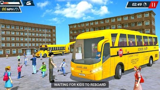 Offroad High School Bus Simulator Free 7