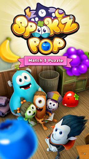SPOOKIZ POP - Match 3 Puzzle 1.2.6 screenshots 5