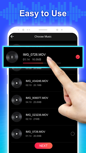 Conver Video To MP3  Free Video To Audio Extractor 1.2 Screenshots 4