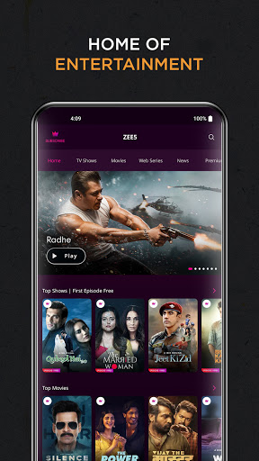 ZEE5: Movies, TV Shows, Web Series  screenshots 2
