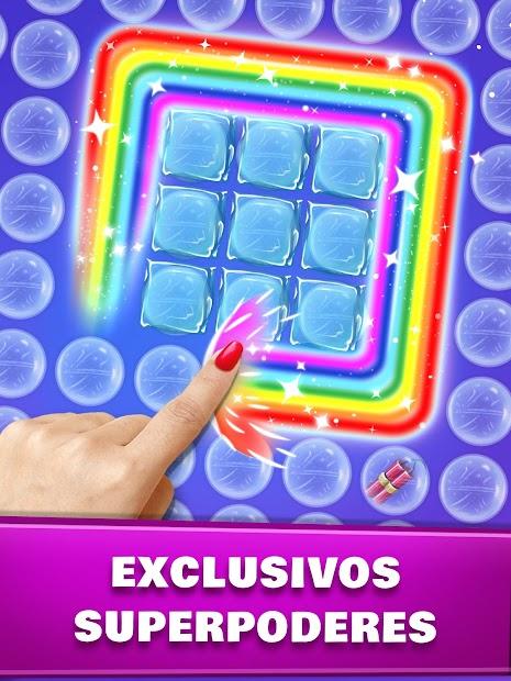 Captura de Pantalla 15 de Revienta burbujas - Juego de estallido de burbujas para android