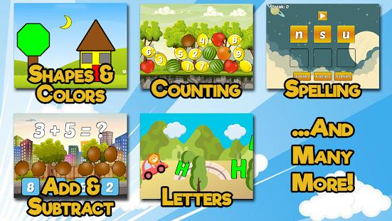 Preschool and Kindergarten Learning Games 6.8 screenshots 2