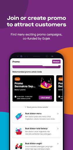 GoBiz - Merchant App - GoFood, GoKasir, GoPay android2mod screenshots 5