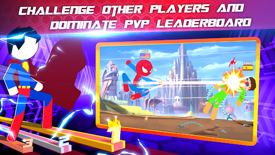 Super Stickman Heroes Fight Mod 2.5 Apk [Unlimited Money] 3