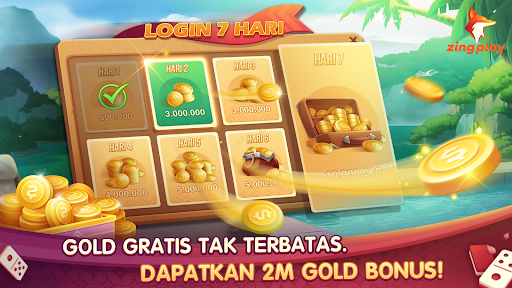 Domino Gaple 3D ZingPlay Game Gratis Seru Online 1.1 screenshots 2