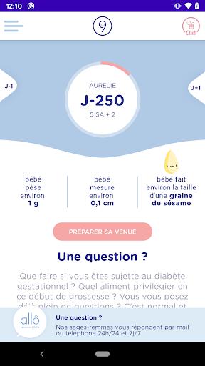 9mois&moi Conseils Grossesse Allaitement android2mod screenshots 2
