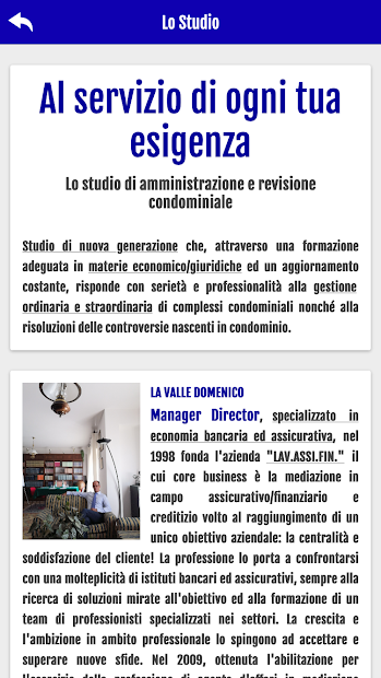 STUDIO LA VALLE screenshot 2