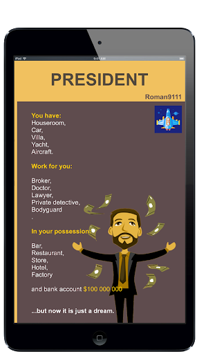 Become President.  screenshots 5