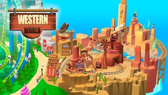 Idle Theme Park Tycoon (MOD, Unlimited Money) 4