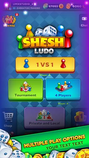 SheshLudo- Multiplayer Ludo board game  apktcs 1