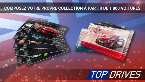 Top Drives – Cartes de voitures du course APK MOD – ressources Illimitées (Astuce) screenshots hack proof 2
