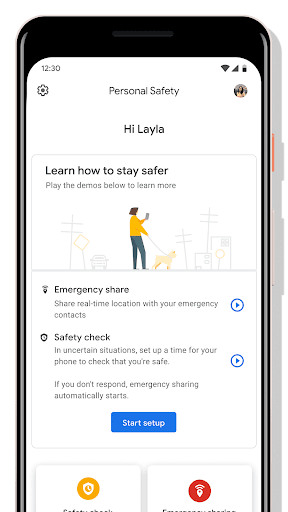 Personal Safety screenshots 1