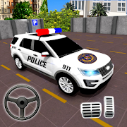 Police Parking Adventure - Car Games Rush 3D