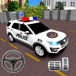Police Parking Adventure  Car Games Rush 3D