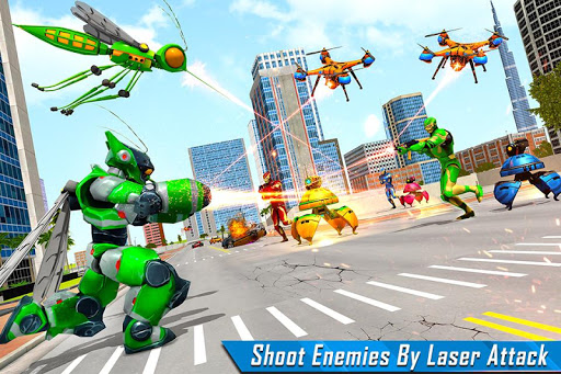 Mosquito Robot Car Game - Transforming Robot Games 1.3 screenshots 1