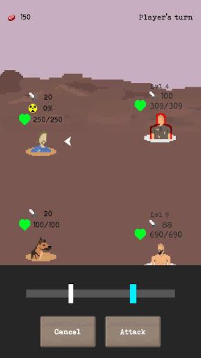 u2622 The Wanderer - Post-Apocalyptic RPG Survival  screenshots 2