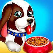 Cute Puppy Pet Care & Dress Up Game