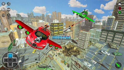 Flying Car Rescue Game 3D: Flying Simulator 1.9 screenshots 5