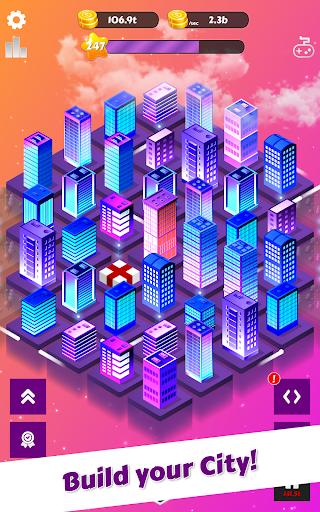 Merge City: idle city building game  screenshots 5