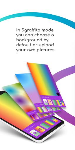 Sgraffito Drawing Pad - Digital art set doodle app 2.2.0 Screenshots 8