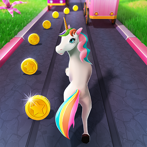 Unicorn Runner 2020: Running Game. Magic Adventure
