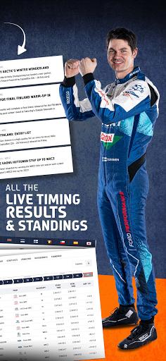 WRC u2013 The Official App apktram screenshots 6
