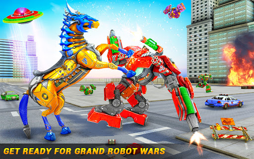 Horse Robot Car Game u2013 Space Robot Transform Wars  screenshots 2