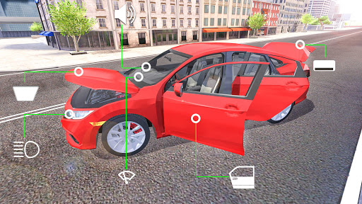 City Car Simulator 2020: Civic Driving  Screenshots 5