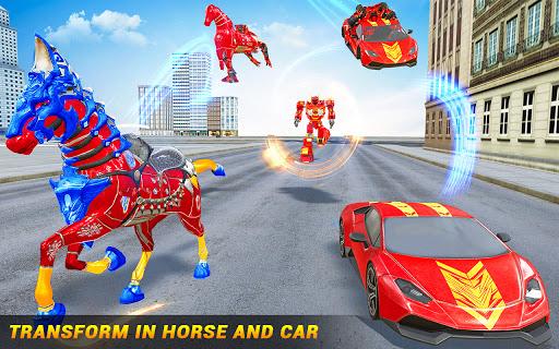 Horse Robot Car Game u2013 Space Robot Transform Wars  screenshots 5