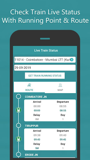 Where is my Train - Train Live Location & Status  Screenshots 2