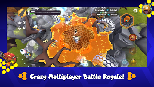 Battle Bees Royale  screenshots 3