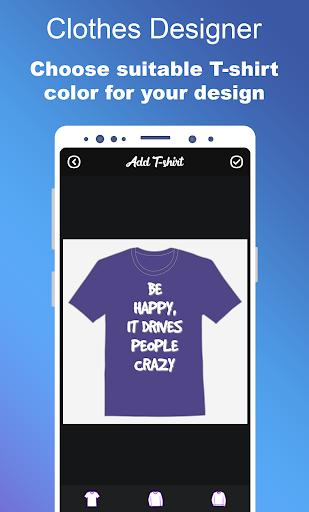 Clothes Designer | T-shirt Design & Clothes Maker 1.1.1 Screenshots 3