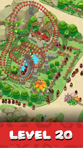 Stone Park: Prehistoric Tycoon - Idle Game  screenshots 11