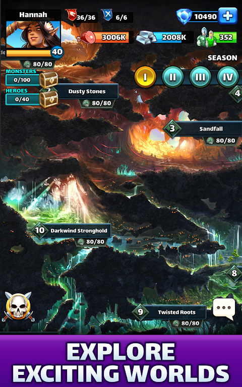 Empires & Puzzles: Match-3 RPG poster 21