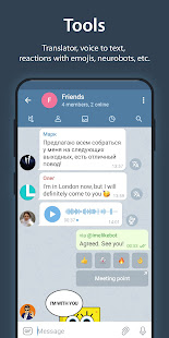 iMe Messenger & Crypto Wallet 7.9.3 Screenshots 5