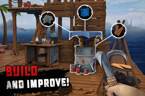 Raft Survival: Ocean Nomad - Simulator 1.196 Screenshots 12