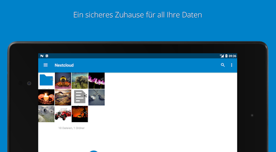 Nextcloud Screenshot