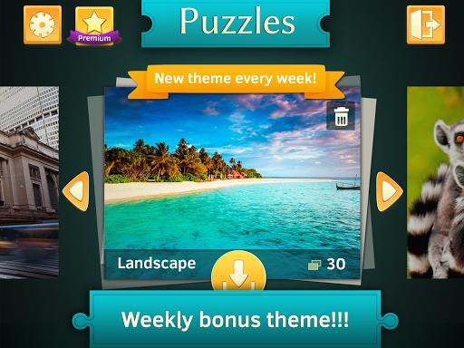 Landscape Jigsaw Puzzles Free Apkfinish screenshots 5