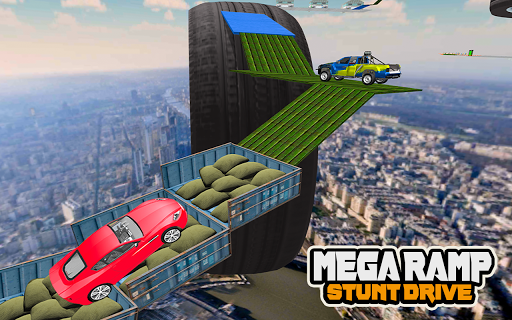 Mega Car Ramp Impossible Stunt Game  Screenshots 14