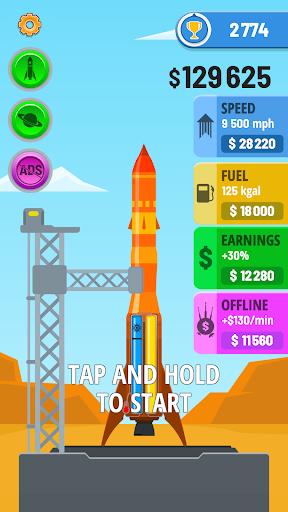 Rocket Sky!  screen 0