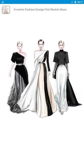 Creative Fashion Design Flat Sketch Ideas  Screenshots 5
