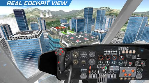Helicopter Flight Pilot Simulator android2mod screenshots 9