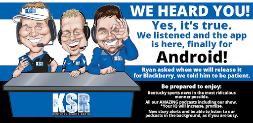Kentucky Sports Radio Ksr Apps On Google Play