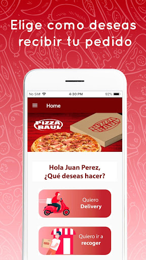 Pizza Raul Delivery  Paidproapk.com 3