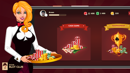 Bazar Blot Club : Best Armenian Card game : Belote 4.4.6 Mod APK (Unlimited) 1